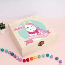 Personalised Square Printed Box Design - Unicorn Personalised and Bespoke