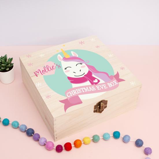 Personalised Square Printed Box Design - Unicorn Personalised and Bespoke