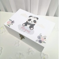 Deluxe White Printed Jewellery Box