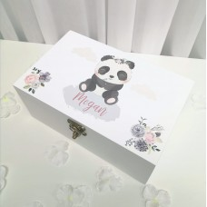 Deluxe White Printed Jewellery Box Personalised and Bespoke