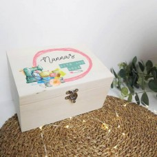 Personalised Printed Wooden Box - Bits and Bobs Personalised and Bespoke
