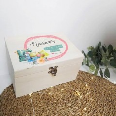 Personalised Printed Wooden Box - Bits and Bobs