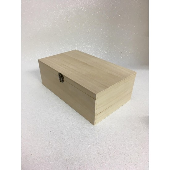 Blank Square Wooden Box  Boxes