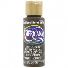 Decoart Americana Acrylic Paint -  Traditional Burnt Umber Decoart Americana Acrylic Paints