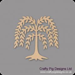 3mm MDF Willow Tree Trees Freestanding, Flat & Kits