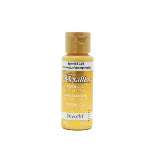 DecoArt Dazzling Splendid Gold 2oz
