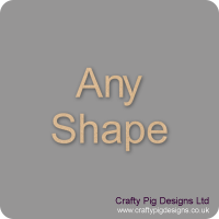 3mm MDF Any Standard Shape (pack of 10)