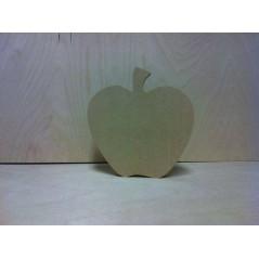 18mm Apple (stalk only no leaf) 18mm MDF Craft Shapes