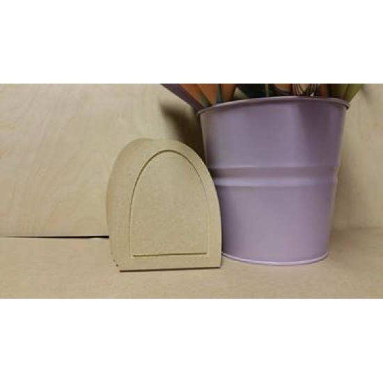 6mm MDF Fairy Door (single routered line inside edge)