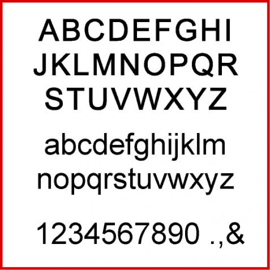 18mm Single Letters and Numbers - ARIEL FONT 18mm MDF Letters and Numbers