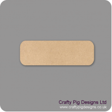 Basic 3mm Plaque (pack of 10) Basic Plaque Shapes