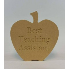 18mm Freestanding Best Teaching Assistant Apple Teachers