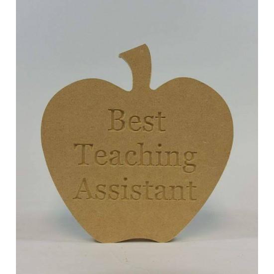 18mm Freestanding Best Teaching Assistant Apple Teachers