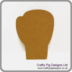18mm Boxing Glove 18mm MDF Craft Shapes