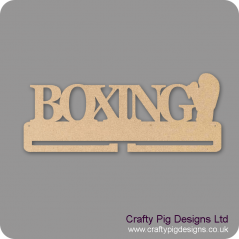 4mm MDF Boxing Medal Holder