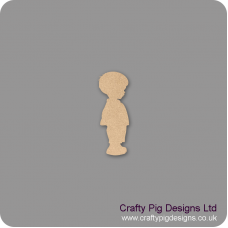 3mm MDF Baby Boy Shape Baby Shapes