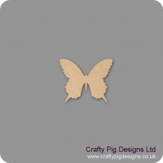 3mm MDF Butterfly 5 Animal Shapes
