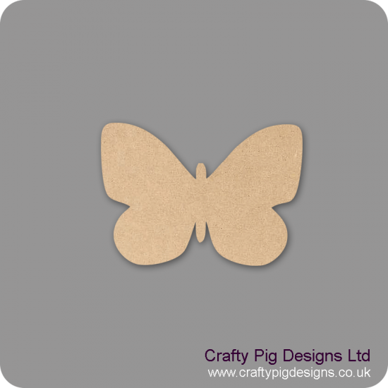 3mm MDF Butterfly 6 Animal Shapes