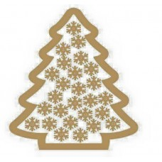 3mm MDF Christmas Tree Advent Calendar/Drop Box