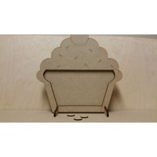 MDF Cupcake Weight Loss Counter Drop Box