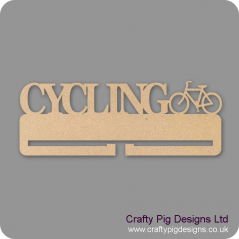 4mm MDF Cycling Medal Holder Medal Holder / Hanger