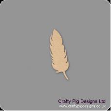 3mm MDF Feather Shape Basic Shapes