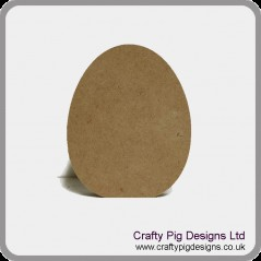 18mm Easter Egg 18mm MDF Craft Shapes