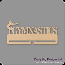 4mm MDF Gymnastics Medal Holder 3 Medal Holder / Hanger