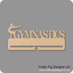 4mm MDF Gymnastics Medal Holder 3