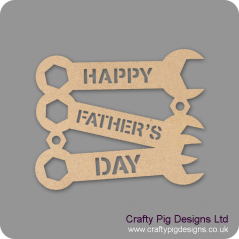 3mm Happy Father's Day Trio Of Spanners