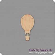 3mm MDF Hot Air Balloon Bunting (Pack of 10) Bunting