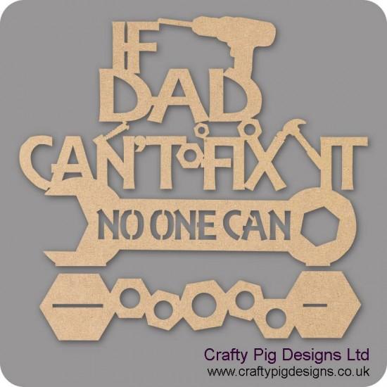 3mm MDF If Grandad Can't Fix It Plinth (choose from options)