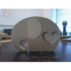 18mm Elephant photo frame 250mm high 18mm MDF Craft Shapes