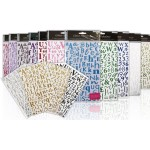 Glitter Alphabet Sticker Packs