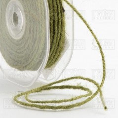 Hessian String 2mm x 20m - Sage