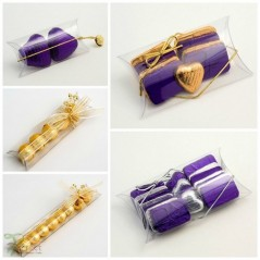 Clear Acetate Bustina Gift Box 120x85x30mm