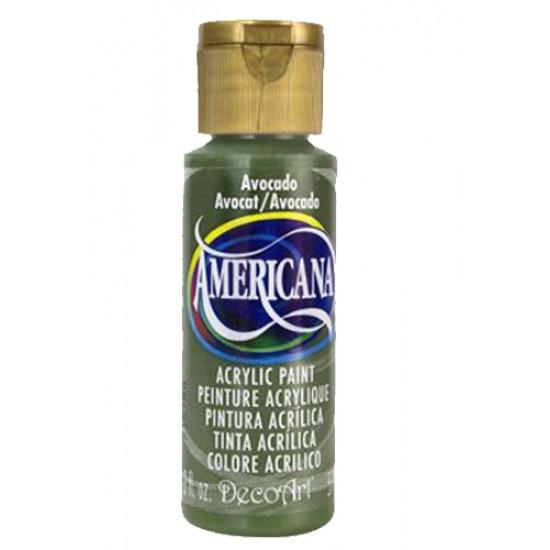 Decoart Americana Acrylic Paint - Avocado 2oz Decoart Americana Acrylic Paints