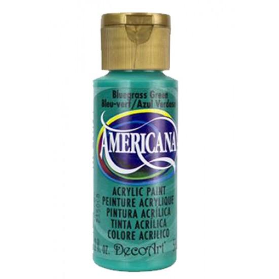 Decoart Americana Acrylic Paint -  Bluegrass Green 2oz Decoart Americana Acrylic Paints