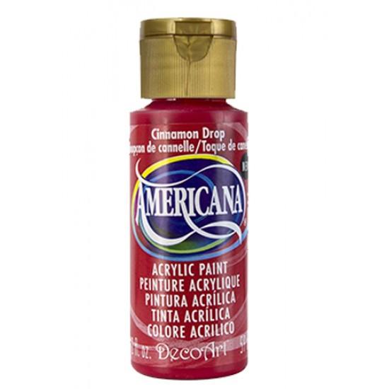 Decoart Americana Acrylic Paint -  Cinnamon Drop 2oz Decoart Americana Acrylic Paints