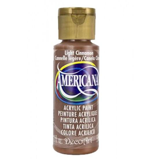 Decoart Americana Acrylic Paint -  Light Cinnamon 2oz Decoart Americana Acrylic Paints