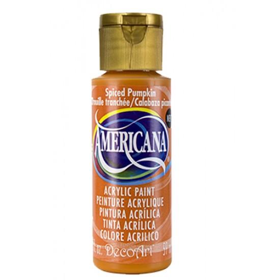 Decoart Americana Acrylic Paint -  Spiced Pumpkin 2oz Decoart Americana Acrylic Paints