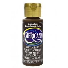 Decoart Americana Acrylic Paint -  Asphaltum 2oz