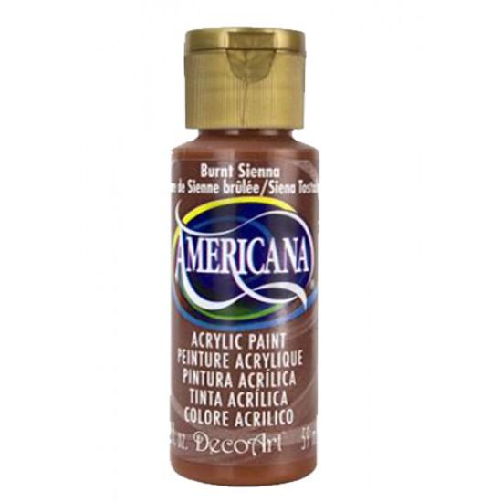 Decoart Americana Acrylic Paint - Burnt Sienna 2oz Decoart Americana Acrylic Paints