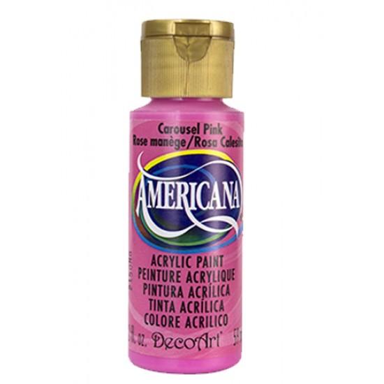 Decoart Americana Acrylic Paint - Carousel Pink 2oz Decoart Americana Acrylic Paints