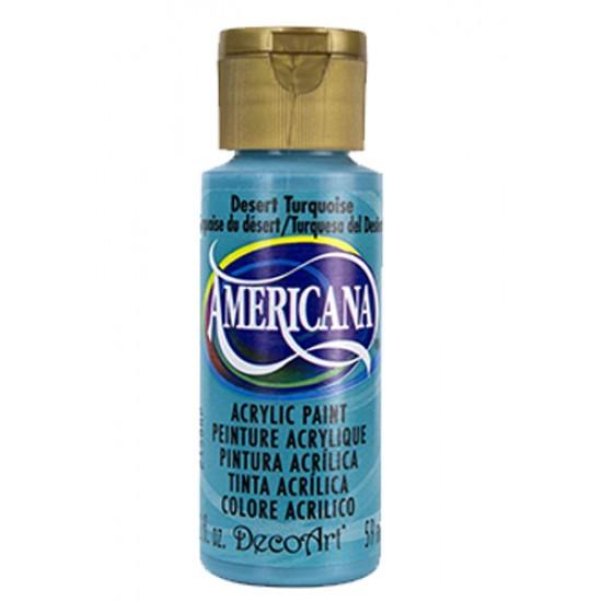 Decoart Americana Acrylic Paint - Desert Turquoise 2oz Decoart Americana Acrylic Paints