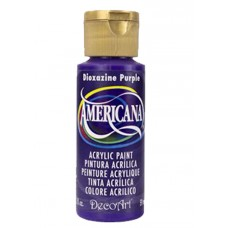 Decoart Americana Acrylic Paint - Dioxazine Purple 2oz Decoart Americana Acrylic Paints