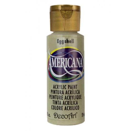 Decoart Americana Acrylic Paint - Eggshell 2oz