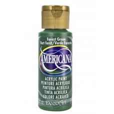 Decoart Americana Acrylic Paint - Forest Green 2oz Decoart Americana Acrylic Paints