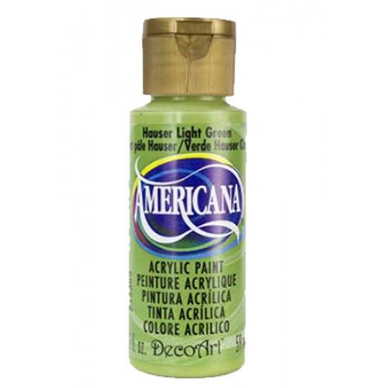 Decoart Americana Acrylic Paint - Hauser Light Green 2oz Decoart Americana Acrylic Paints