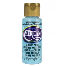 Decoart Americana Acrylic Paint - Indian Turquoise 2oz Decoart Americana Acrylic Paints